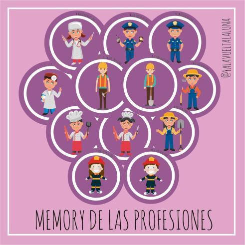 memory profesiones imagen