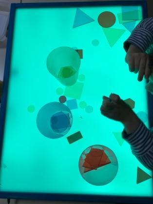 mesa de luz formas